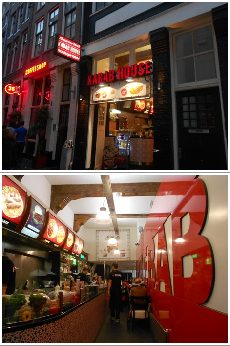 "Restoran Halal ""I Love Kebab"" dekat hostel"