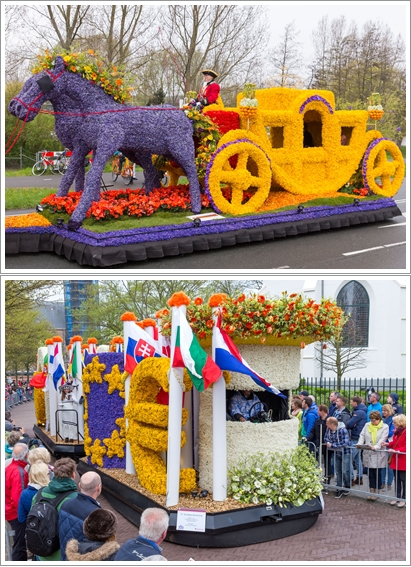 Foto-foto Bulbflower Parade (Source : https://www.bloemencorso-bollenstreek.nl/en)