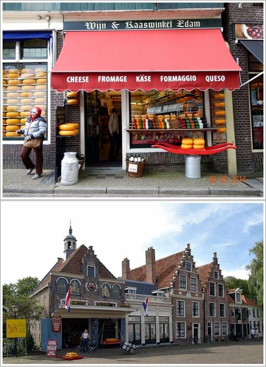 Kaas & Wijn (atas) & De Kaaswaag Edam (bawah)