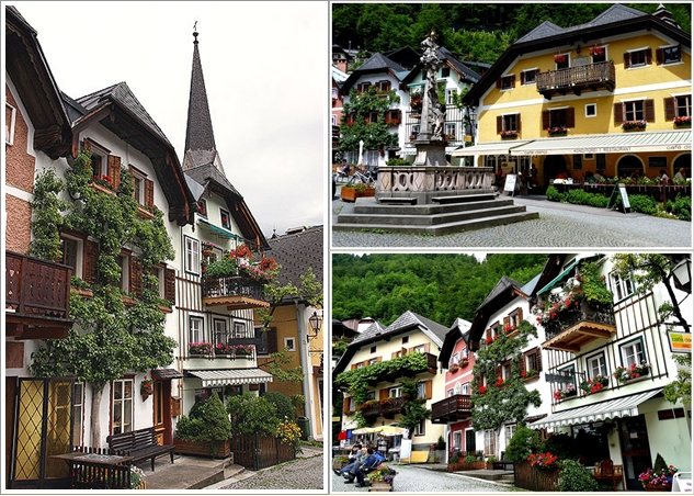 Marktplatz dan beberapa sudut kota Hallstatt