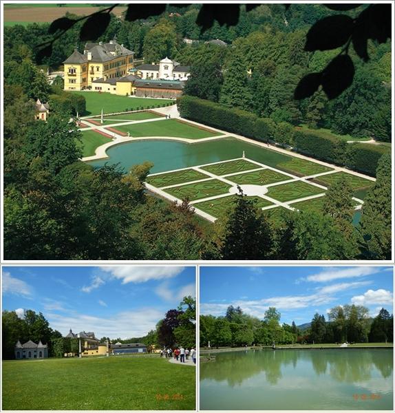 Taman-Taman di Hellbrunn Castle