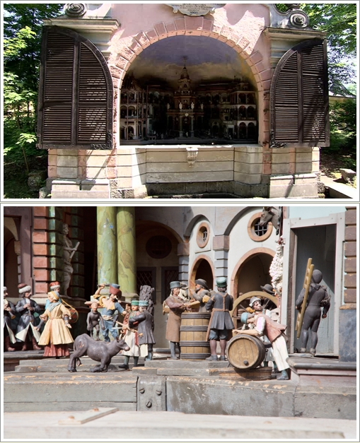 Mechanical Theatre di Hellbrunn Castle