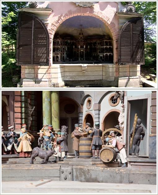Mechanical Theatre di Hellbrunn Castle