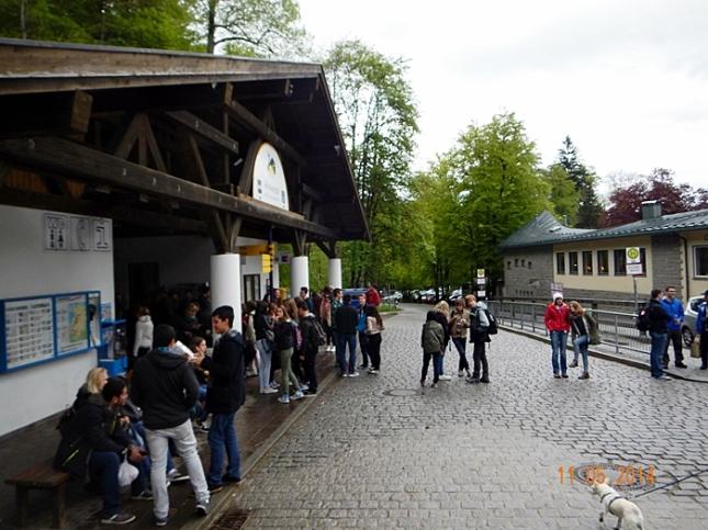 Halte Bis dan kantor Tourist Information Hohenschwangau