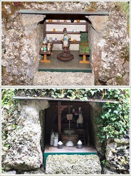 Boneka-Boneka Kecil di Grotto Mechanical Theatre