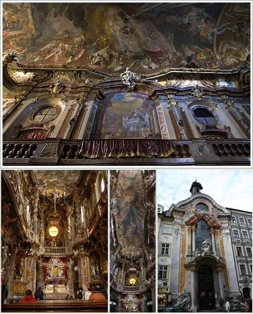Bagian Luar dan Dalam St. Johann Nepomuk Church (Photo by : bigboytravel.com)