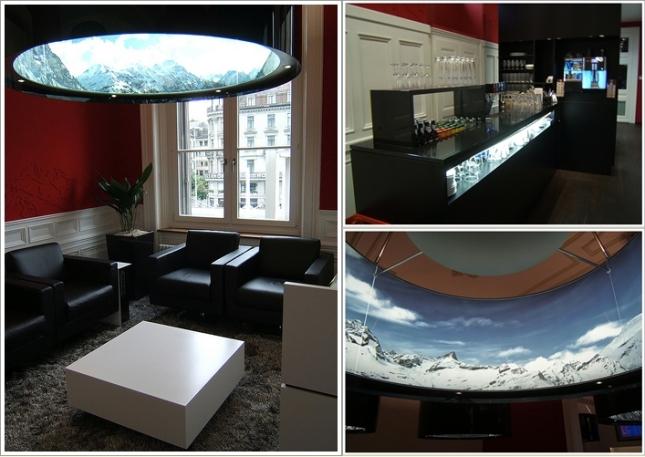 Bagian Dalam SBB Lounge Zurich HB
