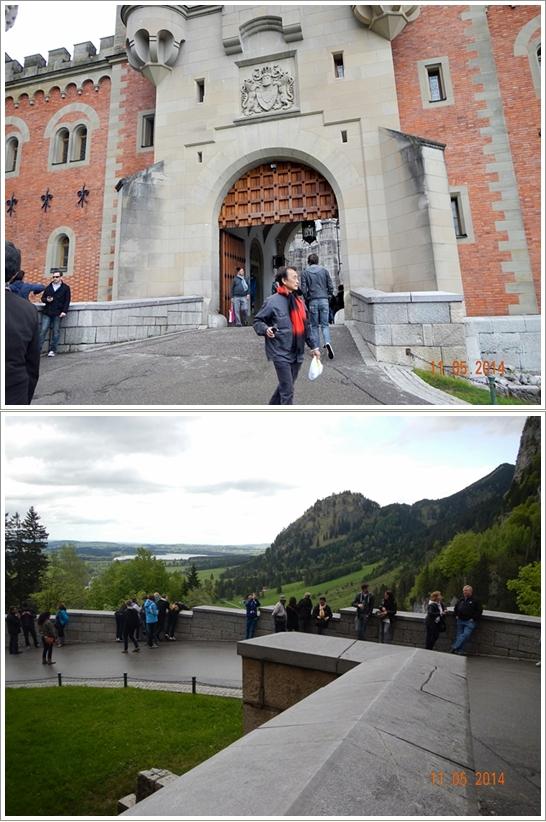 Gerbang Masuk Neuschwanstein dan pemandangan disekitarnya