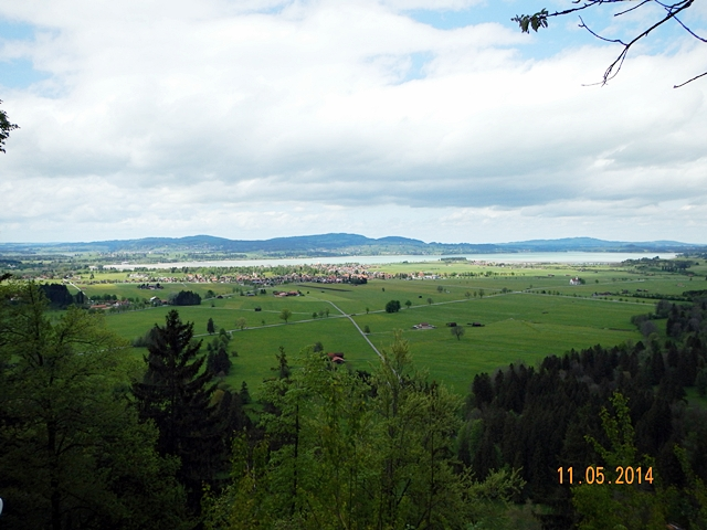 Pemandangan sekitar Neuschwanstein