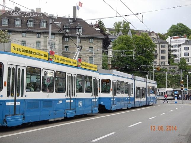 Tram di Zurich