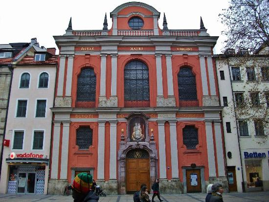 Bürgersaalkirche atau Citizen's Hall Church
