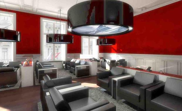 SBB Lounge di Zurich HB