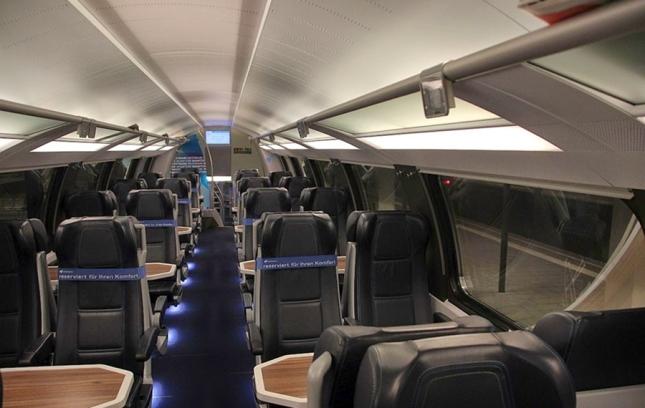 Tempat duduk di Westbahn Plus