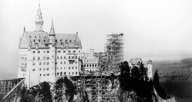 Kondisi Neuschwanstein saat King Ludwig II of Bavaria meninggal dunia (Photo by : neuschwanstein.de)