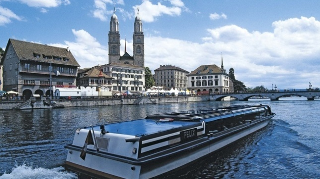 Limmat River Cruise (Photo by : myswitzerland.com