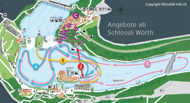 Peta Rheinfalls