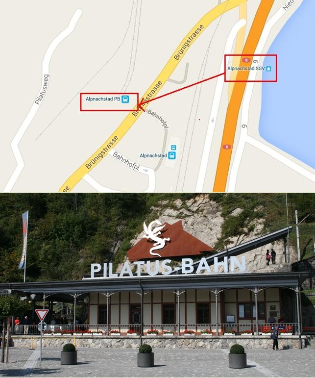 Stasiun Kereta Pilatus Bahn