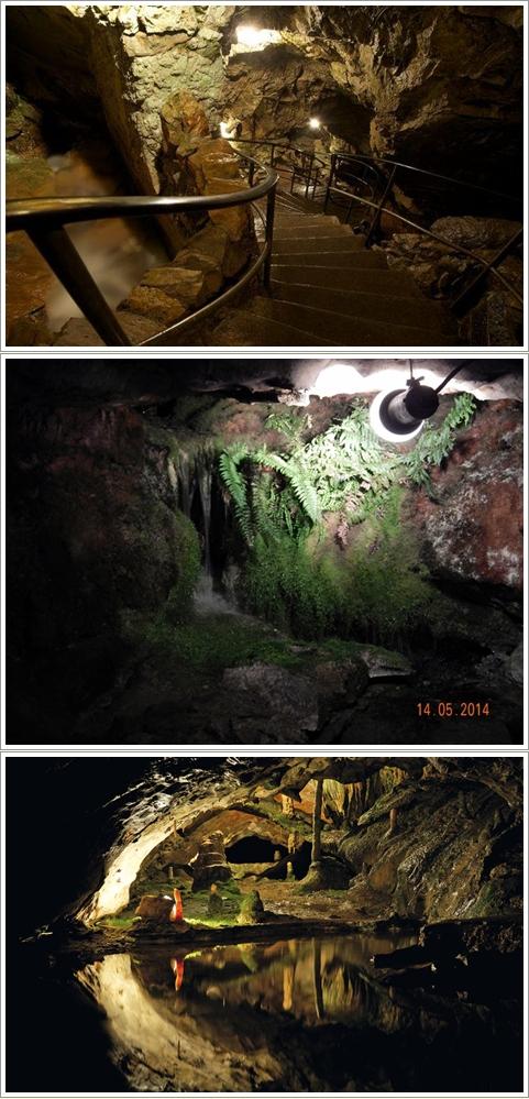 Bagian Dalam St. Beautushohlen Cave