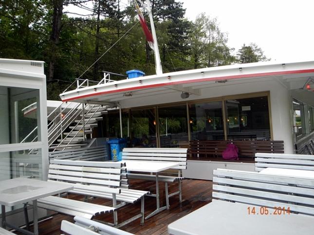 Upper Deck BLS Schifffahrt Thunersee