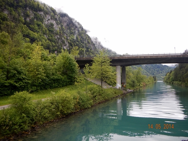 Pemandangan di Sungai Aare
