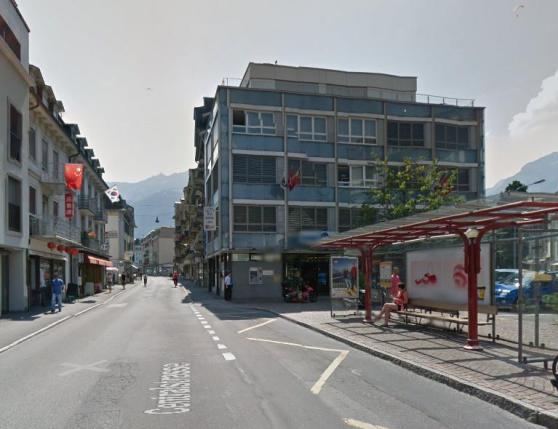 Halte Bis Interlaken, Zentralplatz