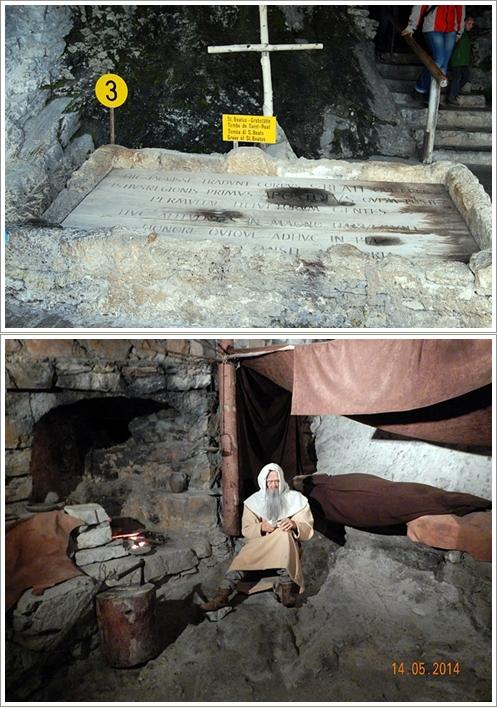 Makam St.Beatus dan replika kehidupannya