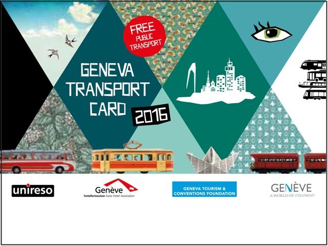Penampakan Kartu Geneva Transport Card Tahun 2016