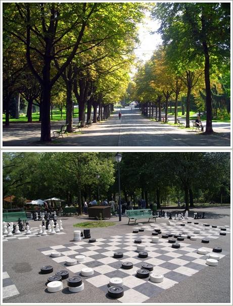 Berbagai Sudut Taman Parc De Bastions