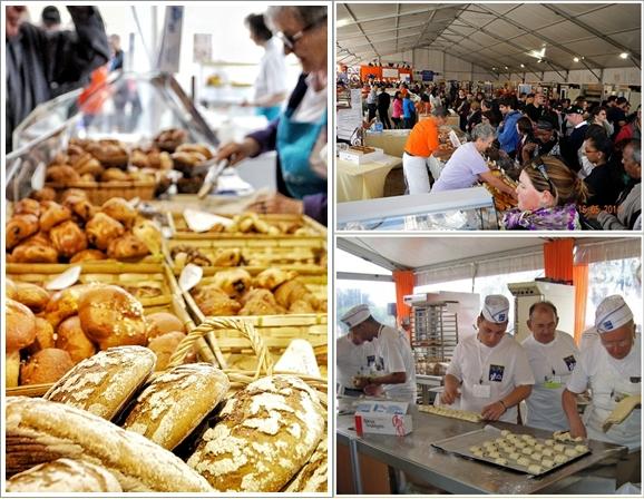 Suasana Paris Bread Festival