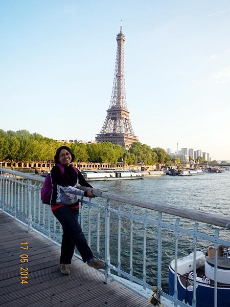 Akhirnya, ketemu sama Eiffel juga